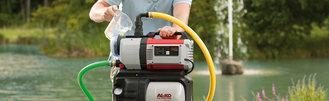 Hauswasserwerk | AL-KO Hauswasserwerk im Einsatz