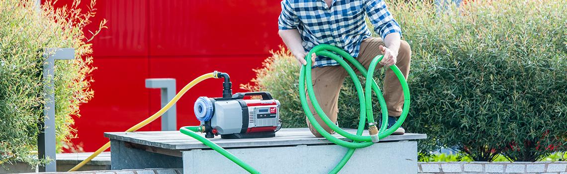 Hauswasserwerk und Hauswasserautomat | AL-KO Wasser sparen in Haushalt und Garten