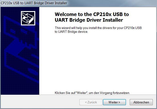 Mähroboter | AL-KO Robolinho® Autoupdater - Schritt 3: USB Treiber Setup