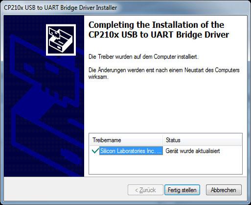 Mähroboter | AL-KO Robolinho® Autoupdater - Schritt 6: Installation fertig stellen