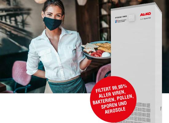 AL-KO AIRSAFE Vorteile | Empfohlen und förderfähig