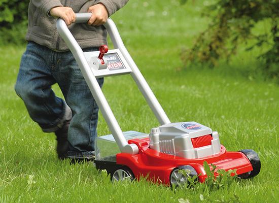 AL-KO for Kids Vorteile | Rasenmäher mit Mähgeräuschen