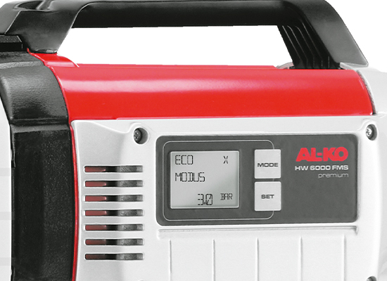 Hauswasserwerk | AL-KO Flow-Measurement-System