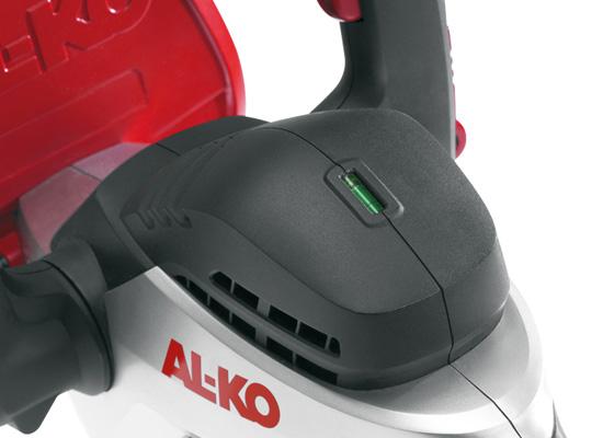 AL-KO Heckenschere Vorteile   Integrierte Wasserwaage