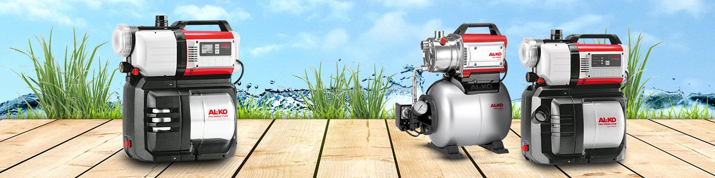 Hauswasserwerke und Hauswasserautomaten