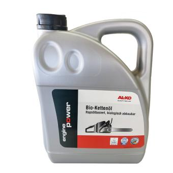 AL-KO Bio-Kettenöl für Kettensägen, 5 Liter