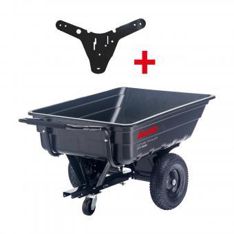 AL-KO Combi Trailer Set CT 400 (inkl. Anhängerwagen und Anhängekupplung) für Comfort Traktoren