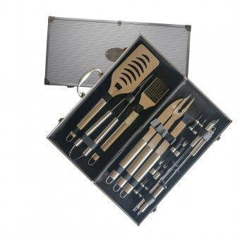 Barbecue Set Deluxe Stainless